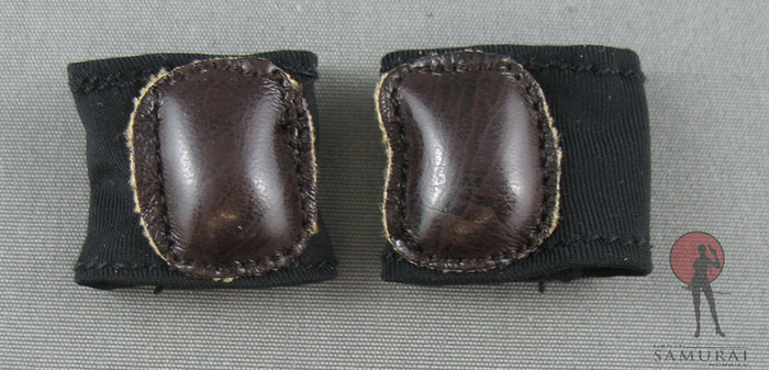 Phicen - Knee Guards - Spandex - Brown Leather