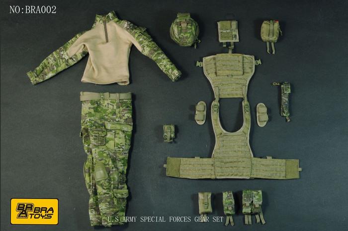 BRA Toys - Special Forces Ranger Gear Set