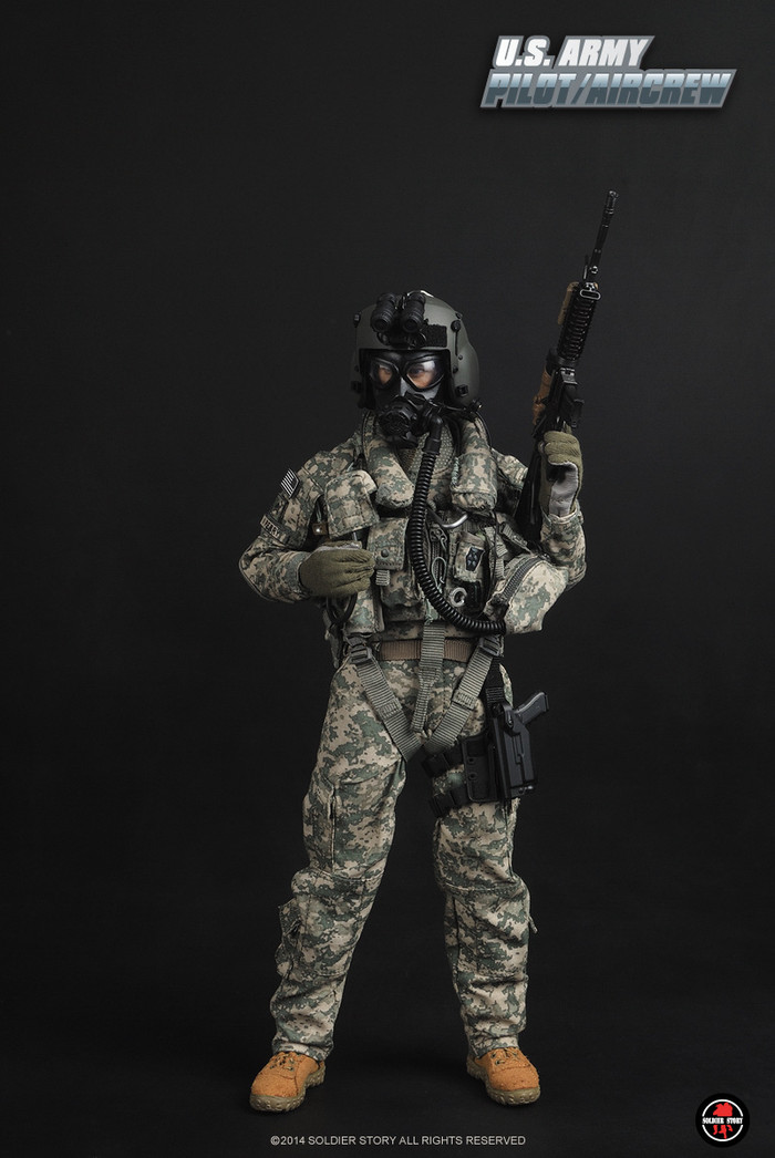 "Soldier Story - 1/6 scale ""U.S.ARMY PILOT/AIRCREW"""