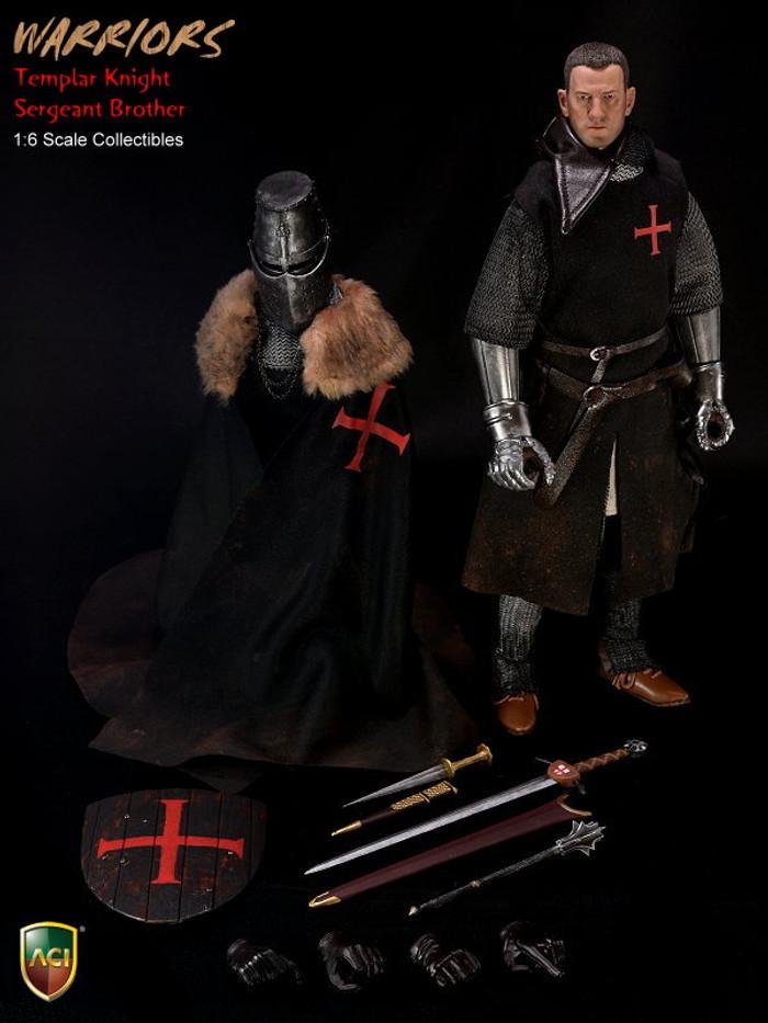ACI Toys 1/6 Crusader Knight Templars - Templar Knight Sergeant Brother