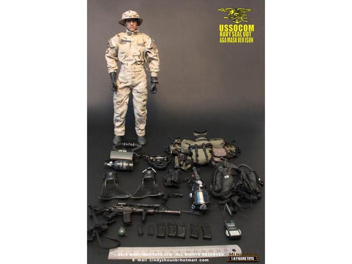 Mini Times - MT-M002 - U.S. Navy Seal UDT