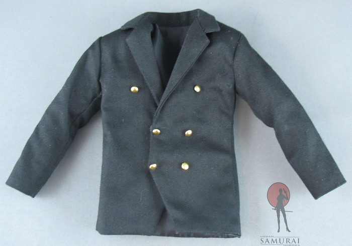 Cosplay - Suit Set - Black - Gold Buttons (Metal)