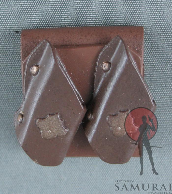 Other - Knife Sheath - Dual - Belt Loop - Brown