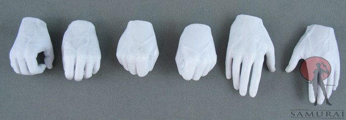 Other - Hand Set - White - Grasping - Fist - Idle