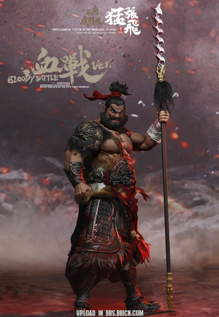Inflames Toys x Newsoul Toys - Soul of Tiger Generals - Bloody-fighting Zhang Yide