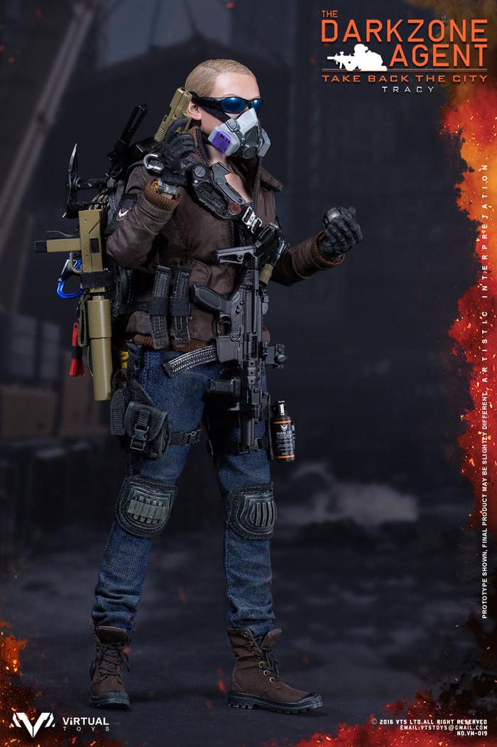 VTS Toys - The Darkzone Agent TRACY