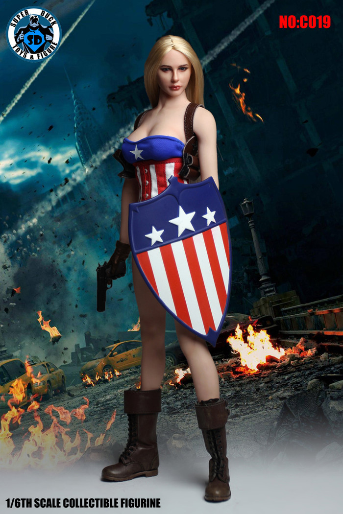 Super Duck - Cosplay Series - American Female Action Hero Accessory