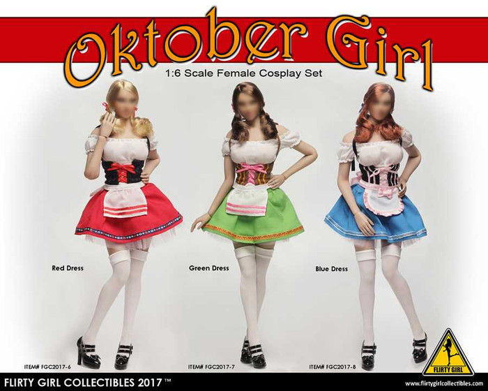 Flirty Girl - Cosplay Clothing Set - Oktober Girl Dress