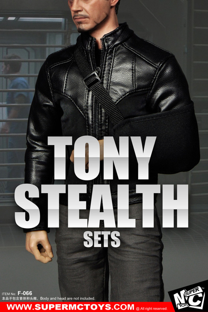 MC Toys - Tony Stealth Set