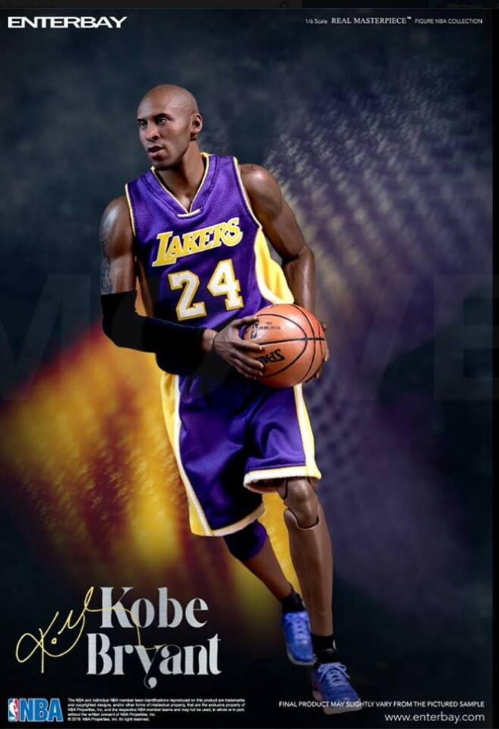Enterbay - NBA Series - Kobe Bryant