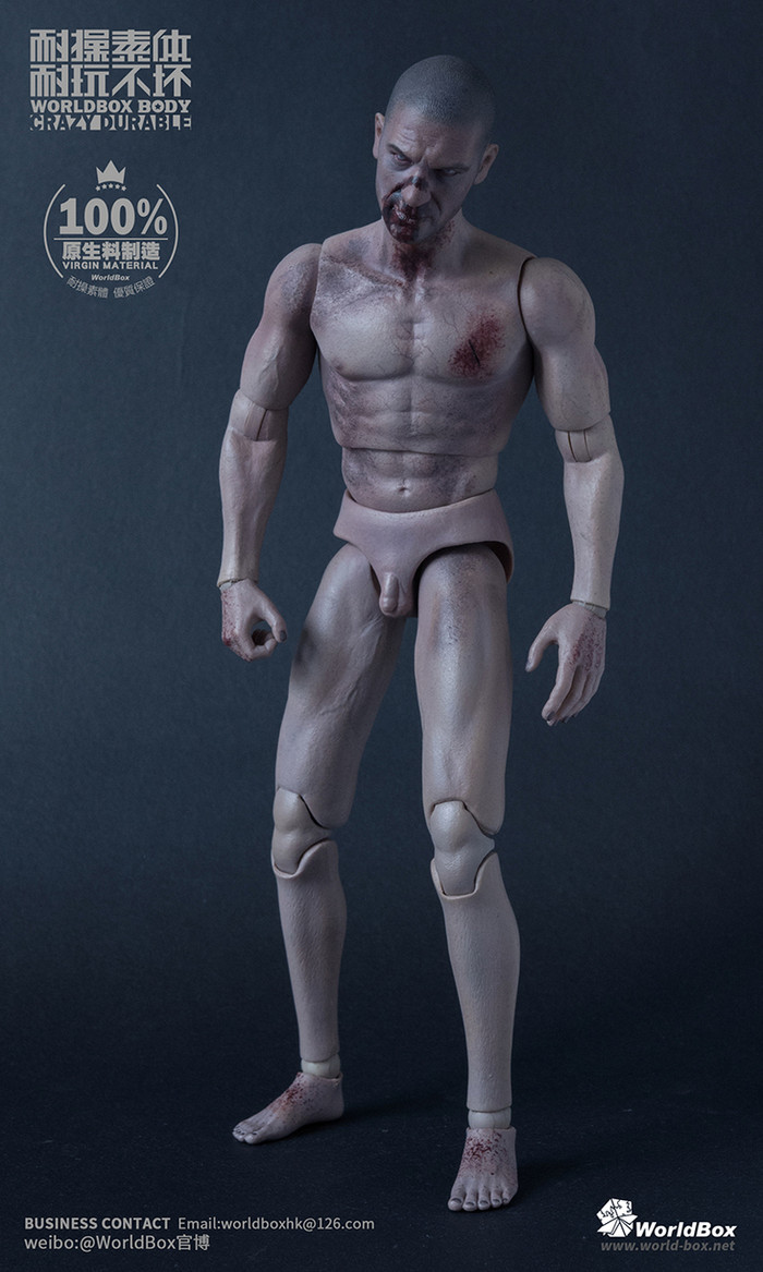 Worldbox - Zombie Durable Body Set