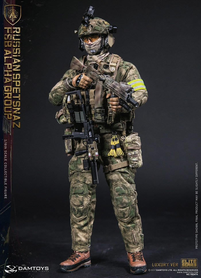 Dam Toys - Russian Spetsnaz FSB Alpha Group Luxury Version