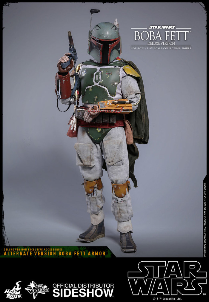 Hot Toys - Star Wars: The Empire Strikes Back - Boba Fett Deluxe Version