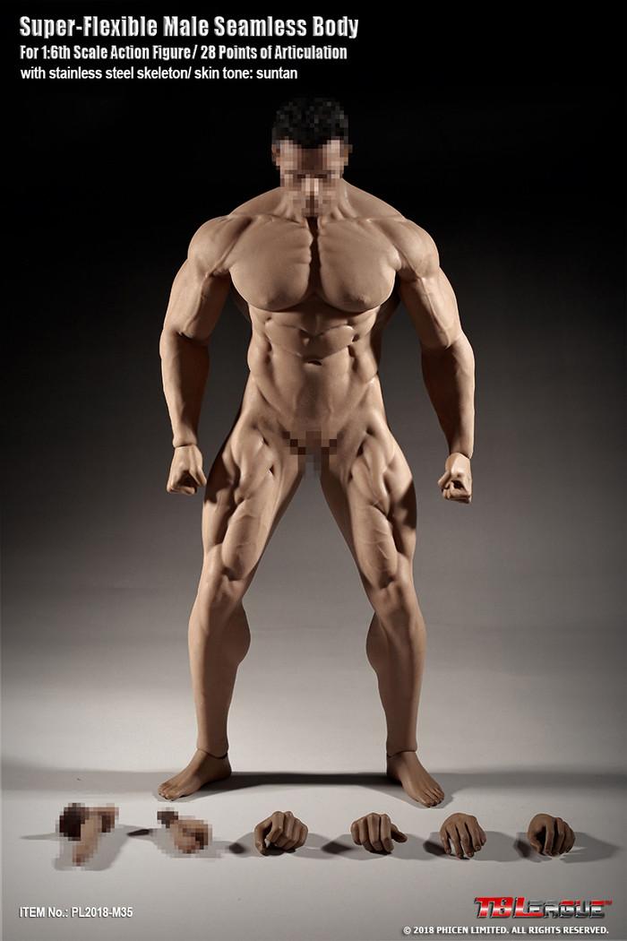 TBLeague - Super Flexible Male Seamless Body M35