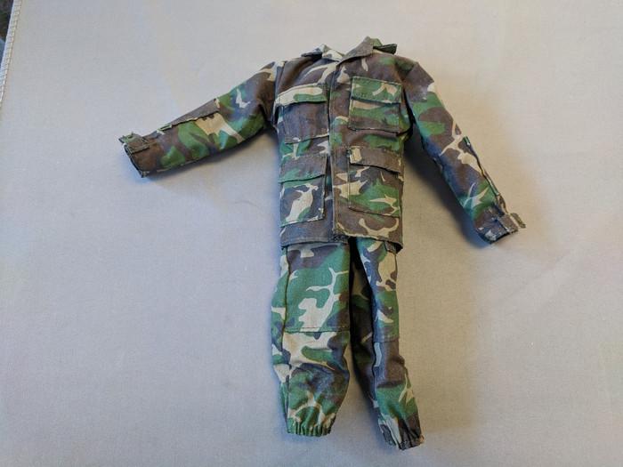 Other - Modern Military - Uniform Set: Woodland Camouflage