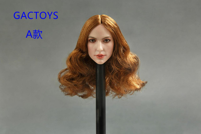 GAC Toys - European and American Women's Head Sculpture