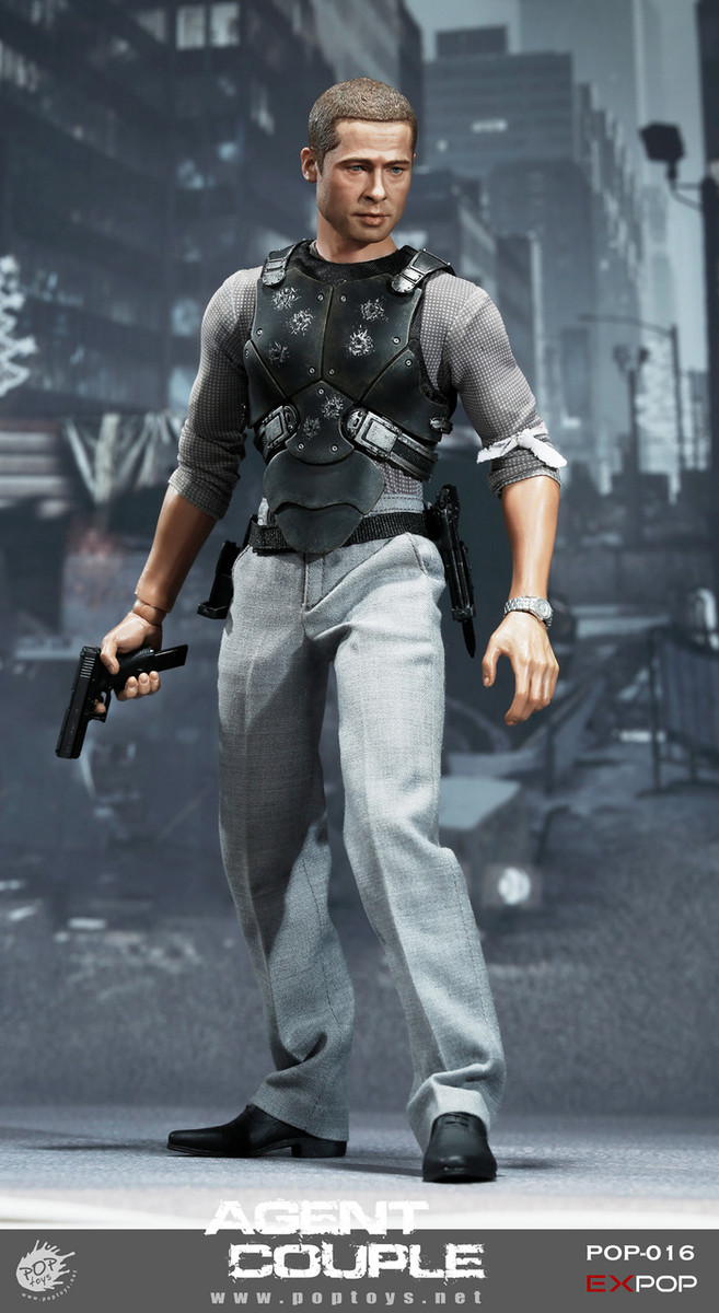 Pop Toys - Mr. Smith Action Figure