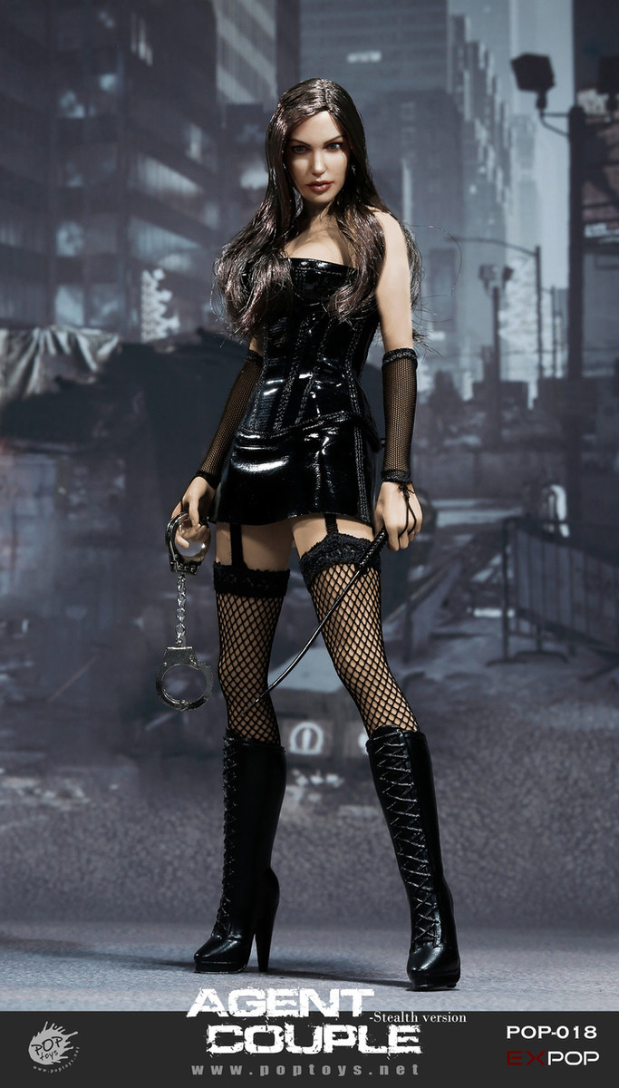 Pop Toys - Mrs. Smith Action Figure SM Version