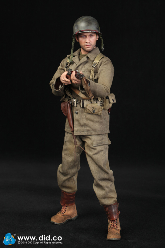 DID - WWII US Army 77th Infantry Division Captain Sam
