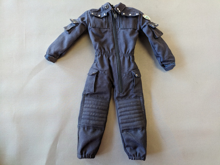 Other - Modern Military - Uniform: Navy Blue Jumpsuit