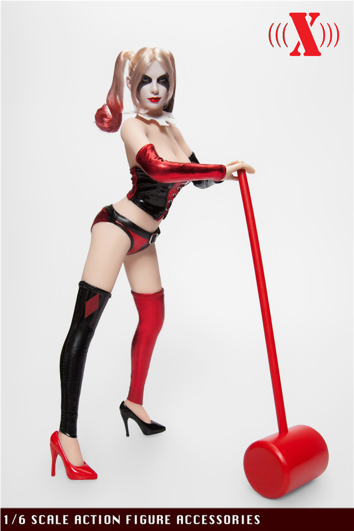 X Toys - Custom Buffoon Girl Set
