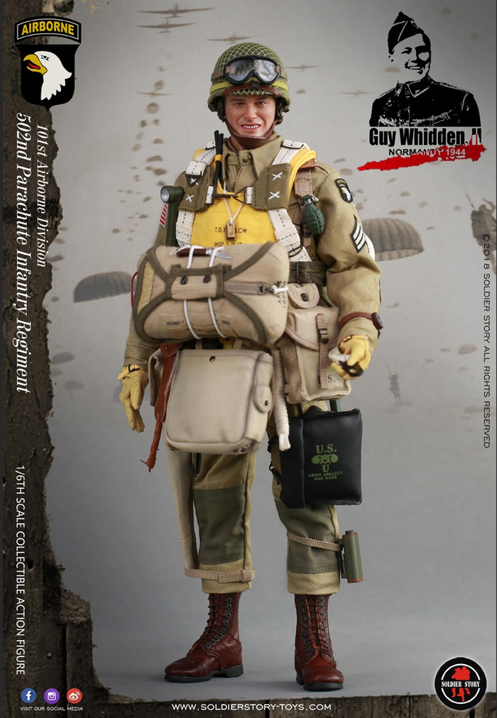 """Soldier Story - WWII 101st Airborne Division """"Guy Whidden, II"""""""
