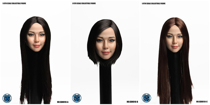Super Duck - Cosplay Series - Asian Headsculpts 2.0