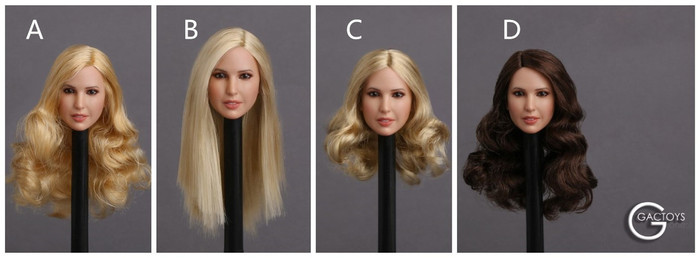 GAC Toys - Female Head Sculptures - GAC018