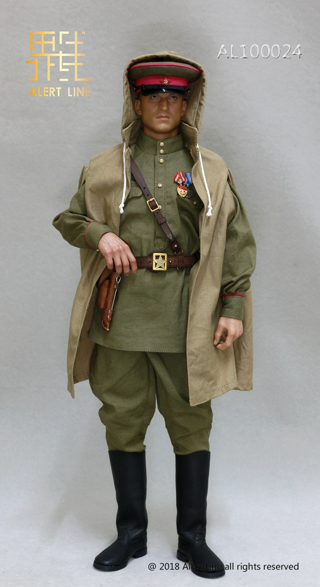 Alert Line - WWII 1944 Red Army Infantry Senior Lieutenant Officer Set