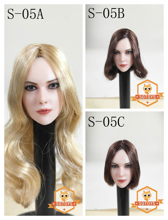 SG Toys - Female Character Head