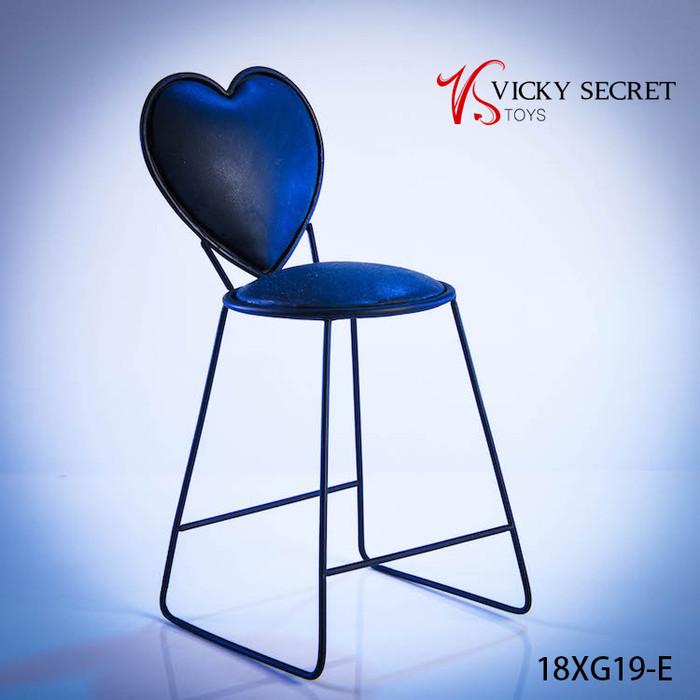 VS Toys - Metal Heart Chair