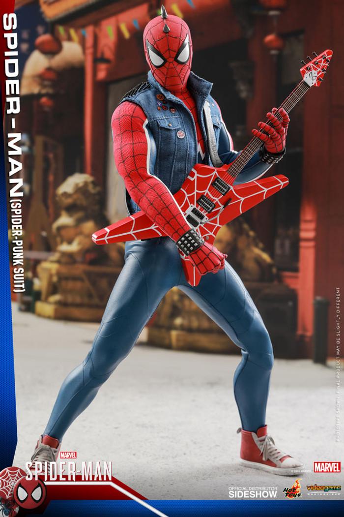 Hot Toys - Marvel's Spider-Man - Spider-Punk Suit Spider-Man