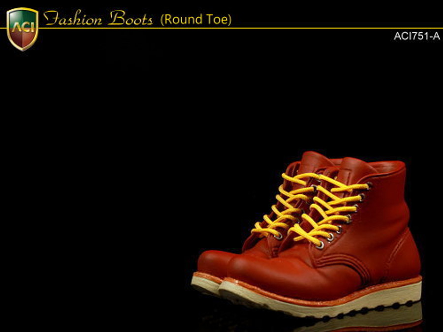 ACI - Fashion Boots - Red