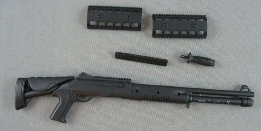 Other - Benelli M1014 Shotgun - Grip - Tactical Rails (Incomplete) - Black