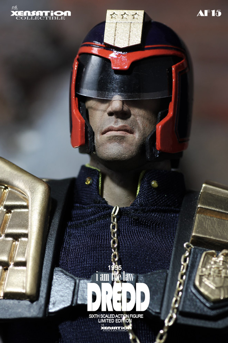 Xensation Collectible - The Dredd
