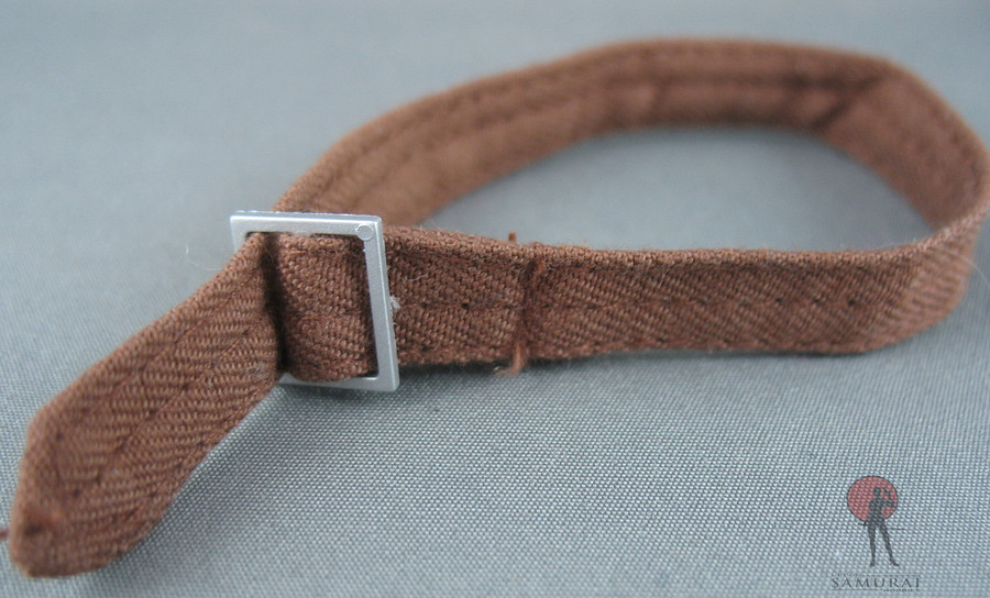 Other - Belt - Fabric - Brown - Buckle (Plastic)