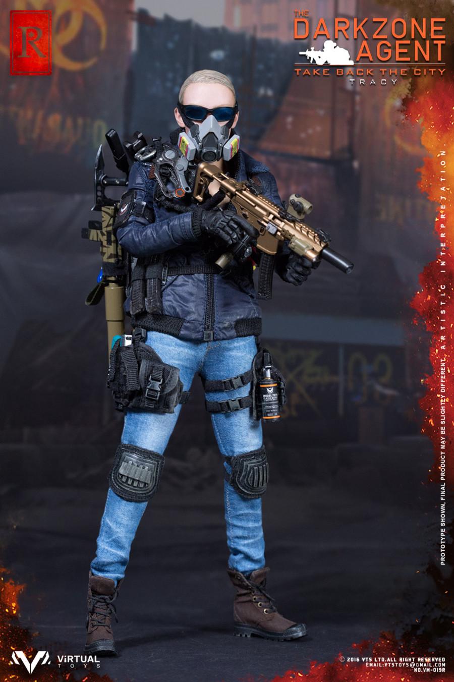 VTS Toys - The Darkzone Agent TRACY R Version