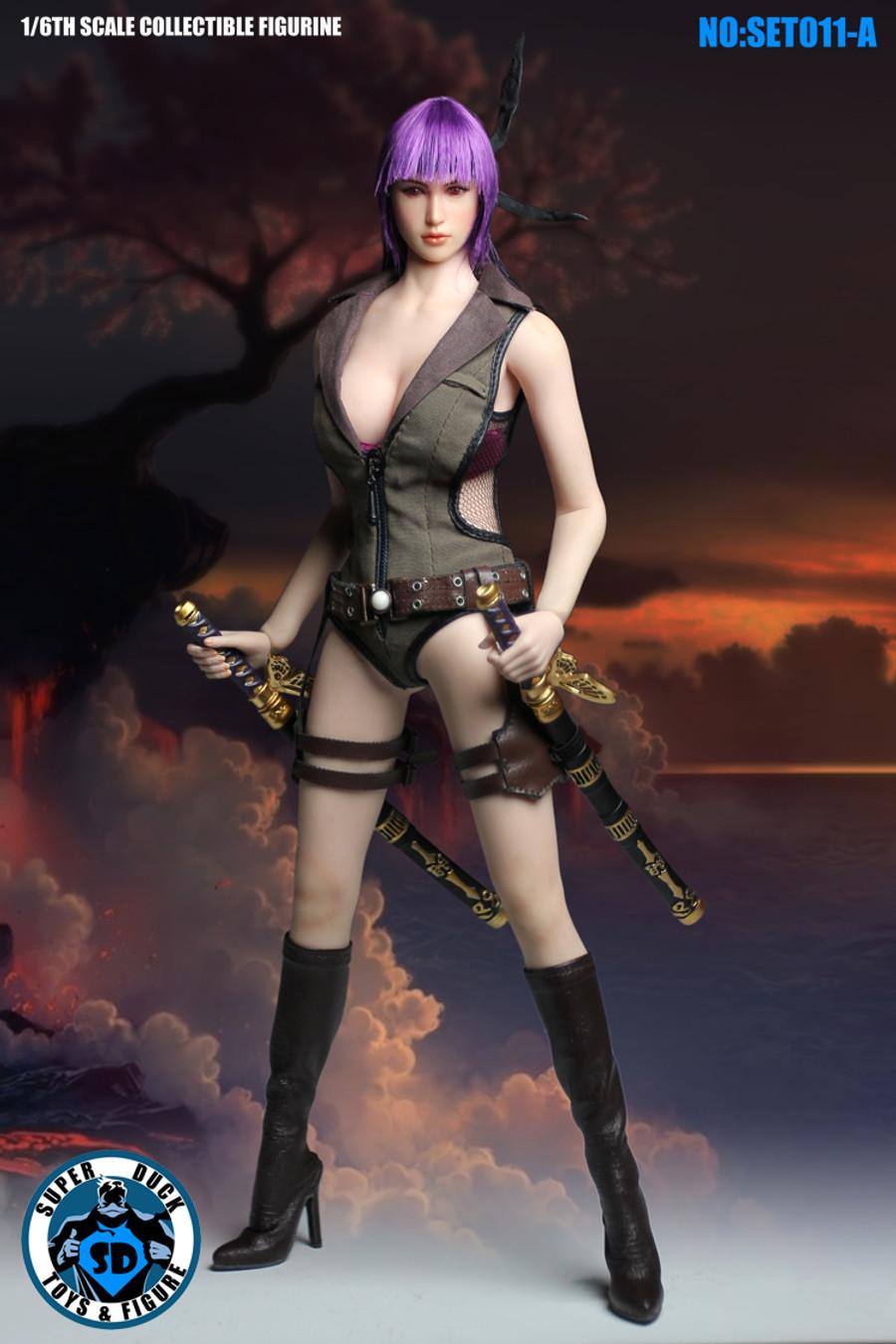 Super Duck - Cosplay Series - Fighting Girls Set