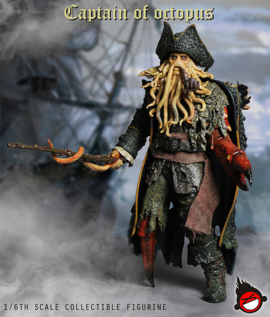 XD Toys - Captain of Octopus Action Figure
