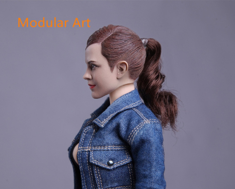 Modular Art - Female Headsculpt with Ponytail