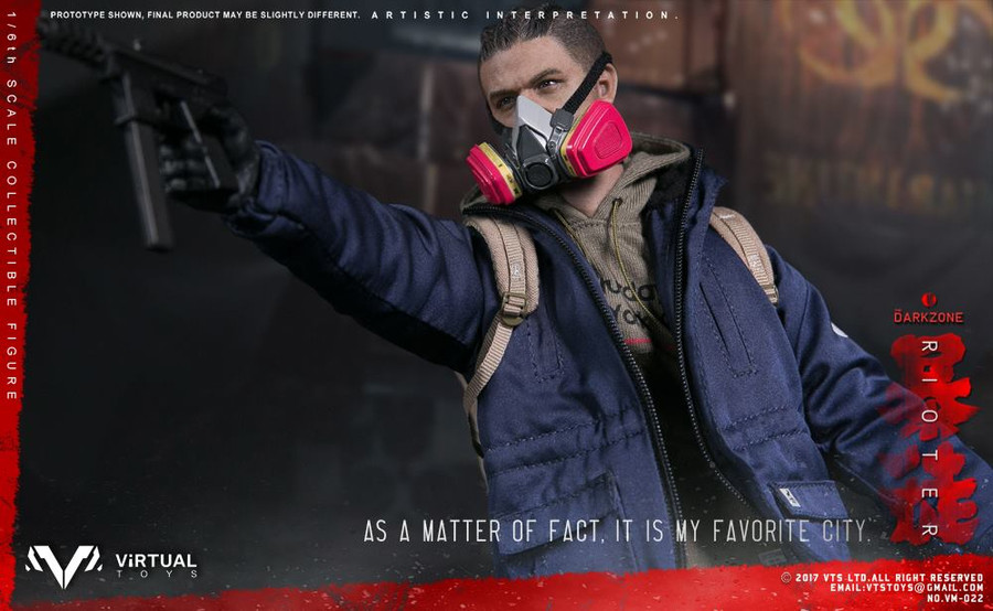 VTS Toys - The Darkzone Rioter