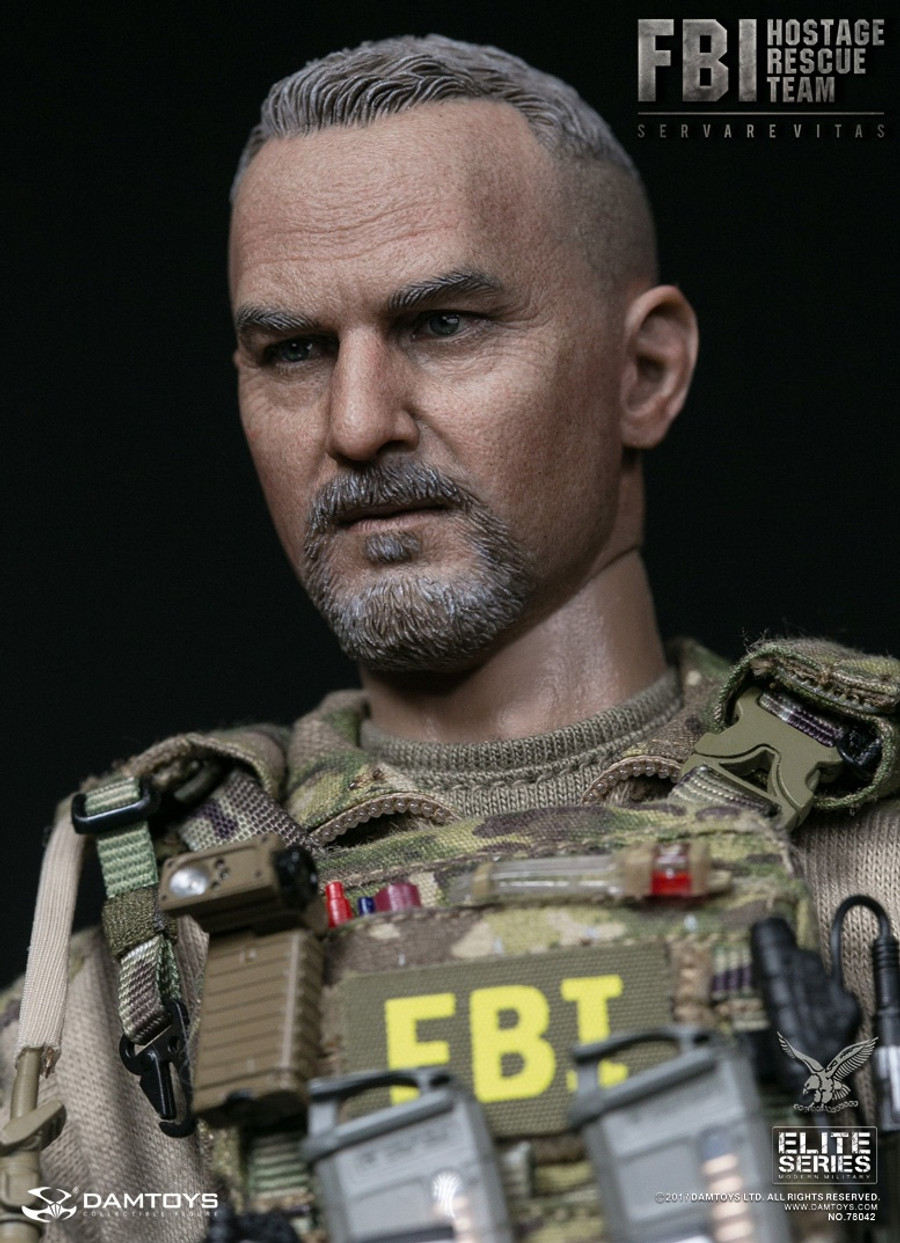 DAM Toys - FBI HRT Agent Hostage Rescue Team