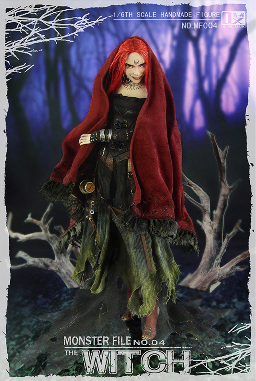 Coo Model X Ouzhixiang - The Witch Black Sultan