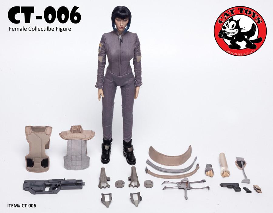 Cat Toys - MOTOKO Female Collectible Figure