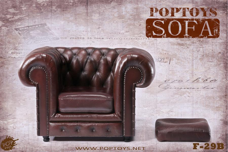 Pop Toys - British Single Sofa