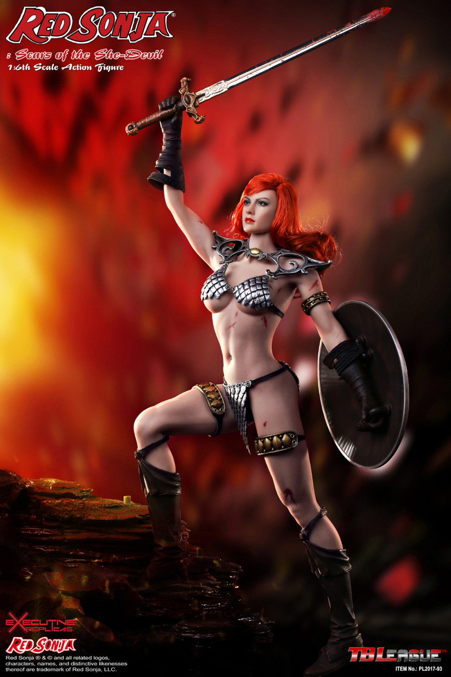 Phicen - Red Sonja: Scars of the She-Devil