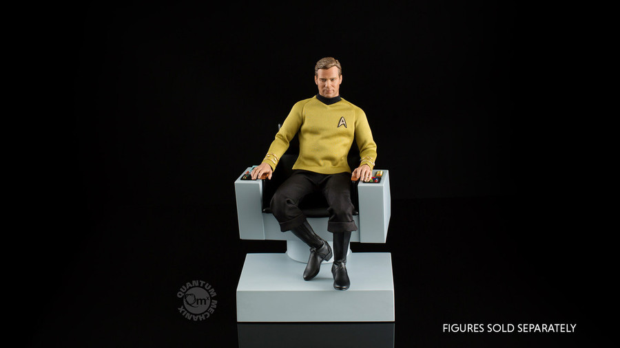 Quantum Mechanix - Star Trek TOS: Captain's Chair