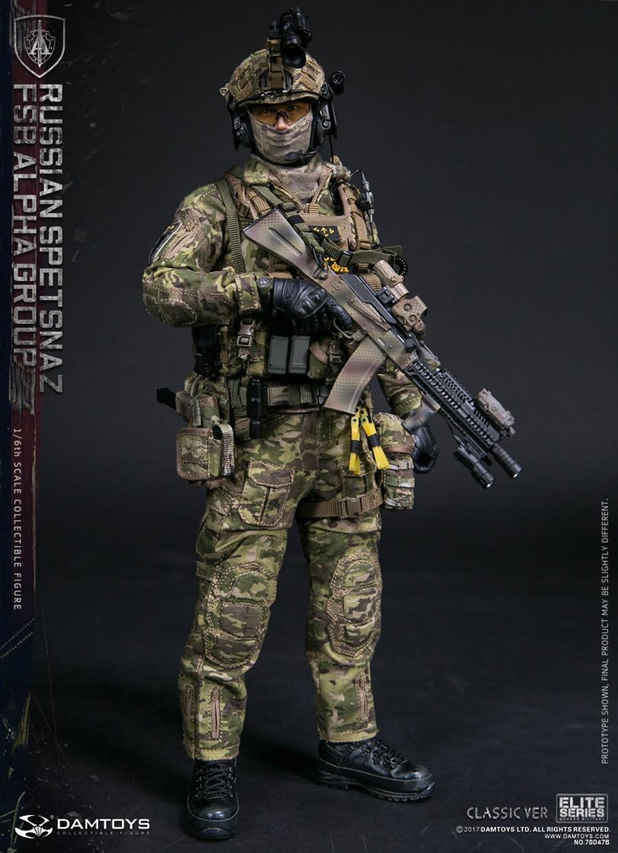 Dam Toys - Russian Spetsnaz FSB Alpha Group Classic Version