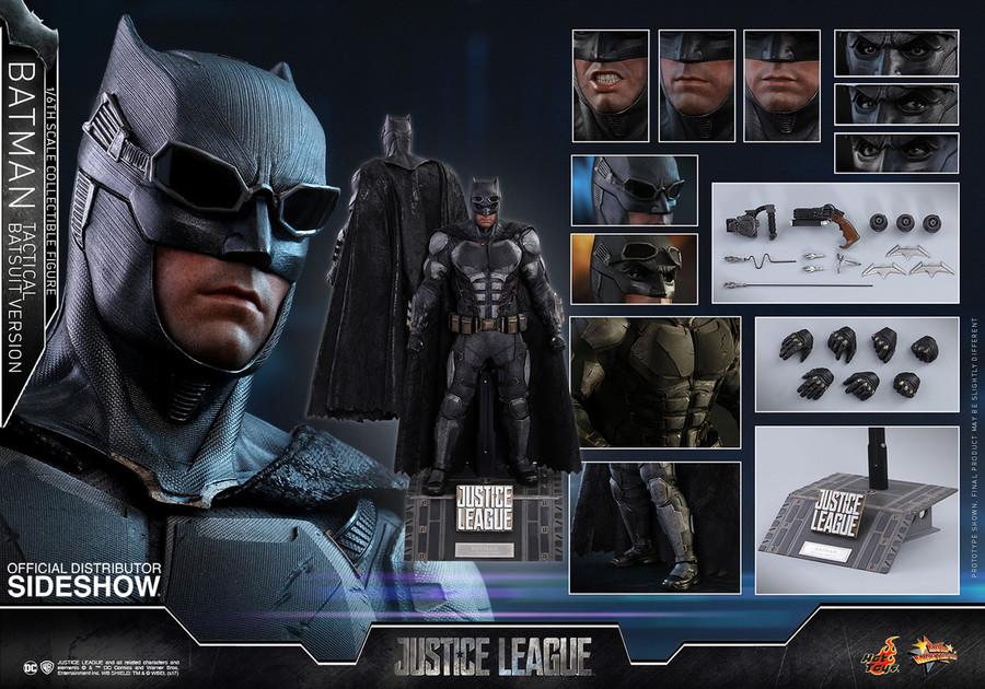 Hot Toys - Justice League: Batman Tactical Batsuit Version