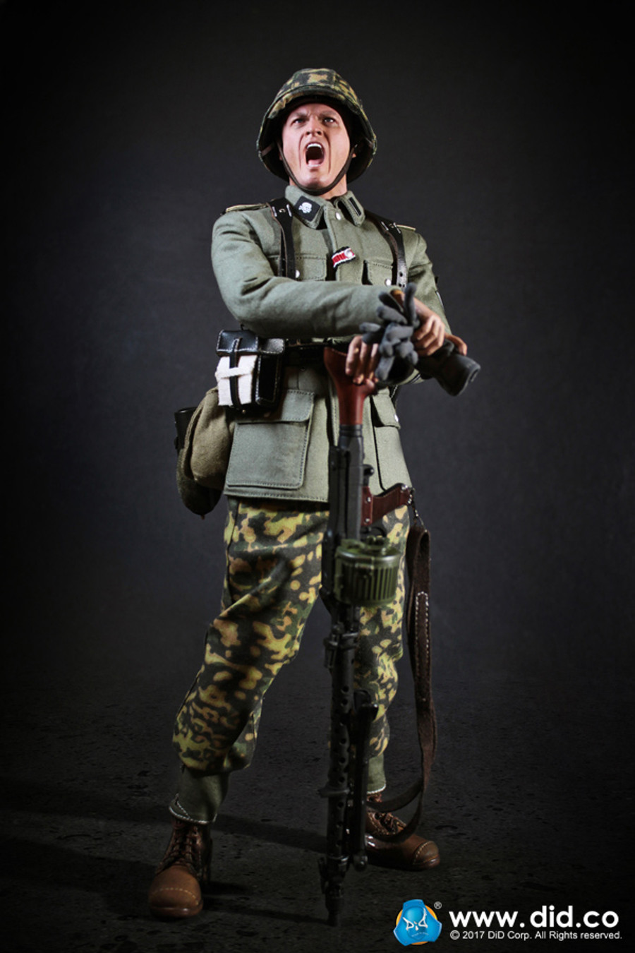 DID - 3rd SS-Panzer-Division MG34 Gunner - Alois